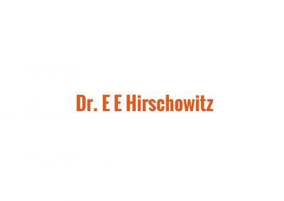 Dr EE Hirschowitz