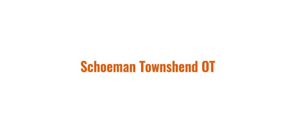 Schoeman Townshend OT